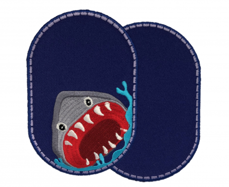 Knee patches (2) Shark