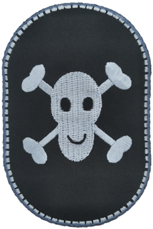 Knee patches (2) Pirate