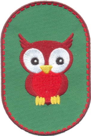 Creapatch Owl knee patch