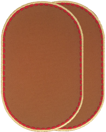 Knee patches (2) Cognac Brown